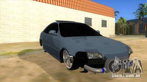 Honda Civic Coupe 1995 para GTA San Andreas vista traseira