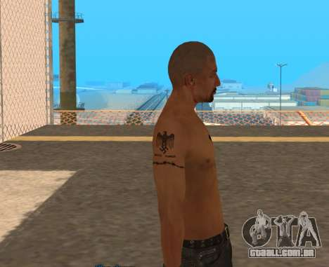 Derek Vinyard: American history X para GTA San Andreas terceira tela