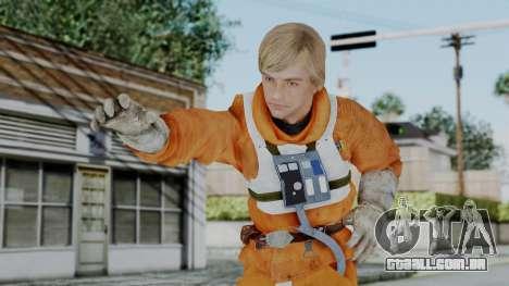 SWTFU - Luke Skywalker Pilot Outfit para GTA San Andreas