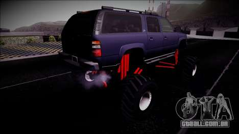 2003 Chevrolet Suburban Monster Truck para GTA San Andreas