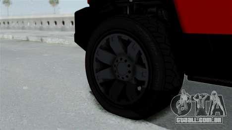 GTA 5 Karin Beejay XL para GTA San Andreas traseira esquerda vista