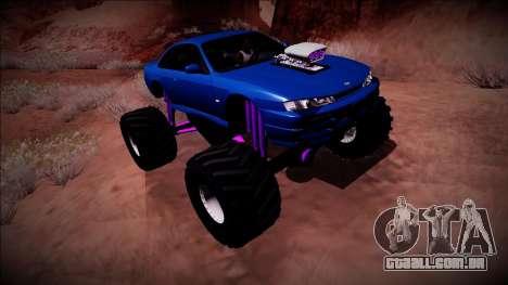 Nissan Silvia S14 Monster Truck para o motor de GTA San Andreas