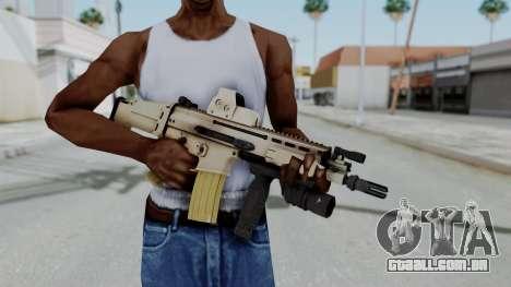 Arma2 MK16 Holo para GTA San Andreas terceira tela