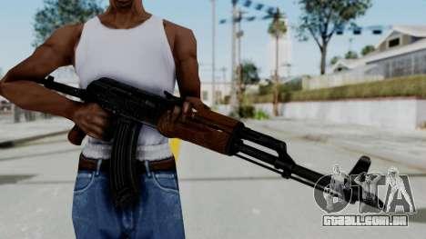 New HD AK-47 para GTA San Andreas terceira tela