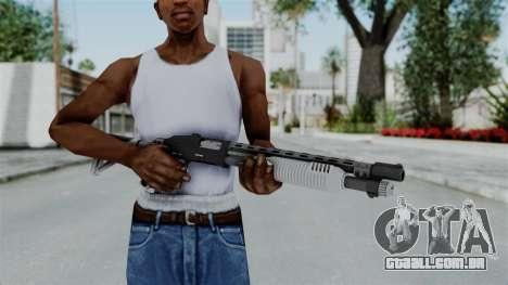 GTA 5 Pump Shotgun - Misterix 4 Weapons para GTA San Andreas terceira tela