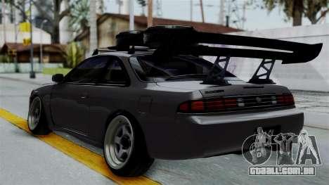 Nissan Silvia S14 Stance para GTA San Andreas esquerda vista
