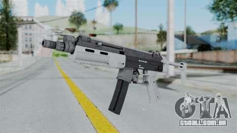 GTA 5 SMG - Misterix 4 Weapons para GTA San Andreas