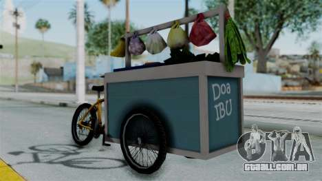 Gerobak Sayur (Vegetable Carts) para GTA San Andreas