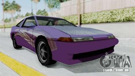 Uranus 2F2F Eclipse PJ para GTA San Andreas
