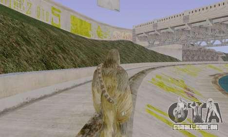 Chewbacca para GTA San Andreas terceira tela