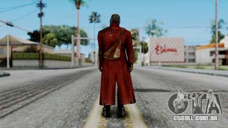 Marvel Future Fight - Star-Lord para GTA San Andreas terceira tela