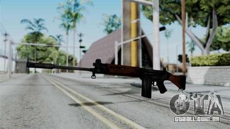 No More Room in Hell - FN FAL para GTA San Andreas segunda tela