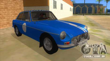 Richard Hammond MGB GT Top Gear para GTA San Andreas vista traseira