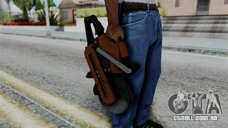 No More Room in Hell - Abrasive Saw para GTA San Andreas terceira tela