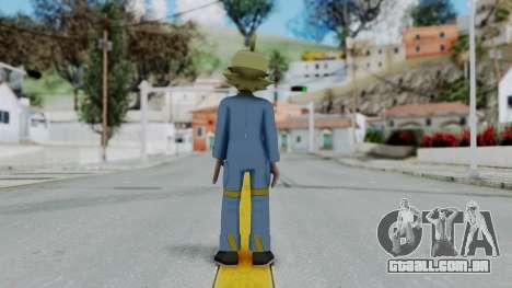 Pokémon XY Série, Clemont para GTA San Andreas terceira tela