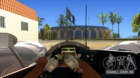 Audi R10 para GTA San Andreas vista interior