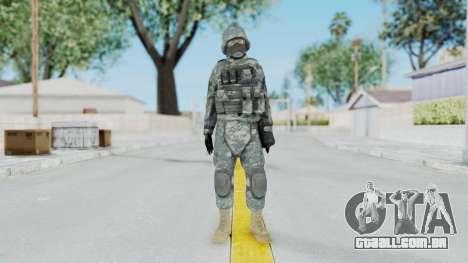 Acu Soldier 5 para GTA San Andreas segunda tela