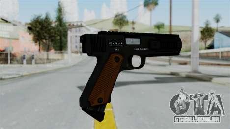 GTA 5 AP Pistol para GTA San Andreas segunda tela