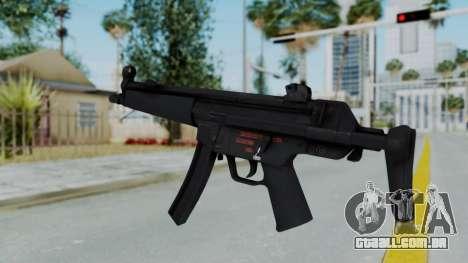 Arma AA MP5A5 para GTA San Andreas segunda tela