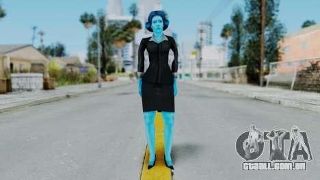 Bully Insanity Edition - Miss Danvers para GTA San Andreas segunda tela