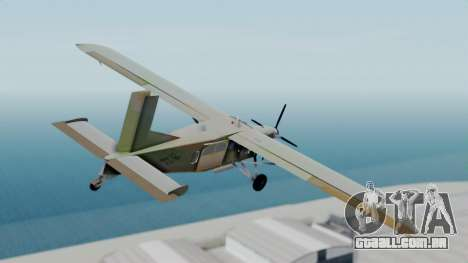 PC-6 USAF Markings para GTA San Andreas esquerda vista