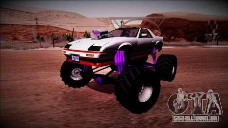 GTA 5 Imponte Ruiner Monster Truck para vista lateral GTA San Andreas