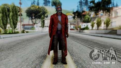 Marvel Future Fight - Star-Lord para GTA San Andreas segunda tela