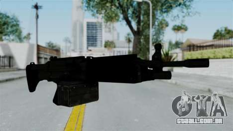 GTA 5 Combat MG para GTA San Andreas segunda tela