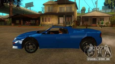 GTA LCS Deimos SP para GTA San Andreas esquerda vista