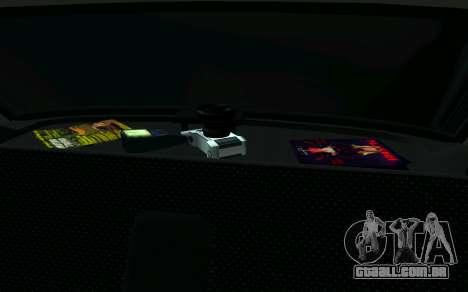 VAZ 2107 de Táxi para GTA San Andreas vista direita