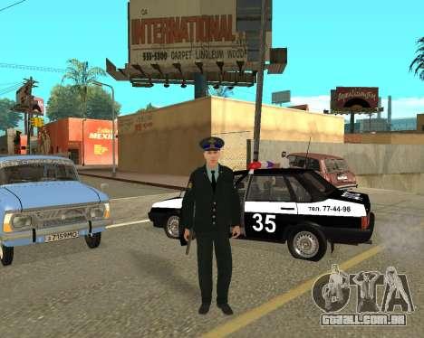 A Pele É Sergei Glukharev para GTA San Andreas terceira tela