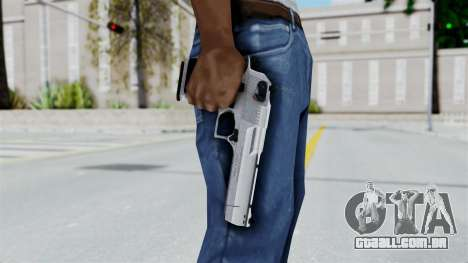 Pouxs Desert Eagle v2 Chrome para GTA San Andreas