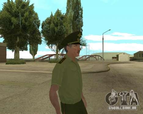 Sênior mandado de oficial de danyluk para GTA San Andreas por diante tela