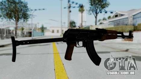 New HD AK-47 para GTA San Andreas segunda tela