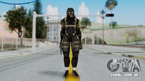 Frog from Metal Gear Solid 4 para GTA San Andreas segunda tela