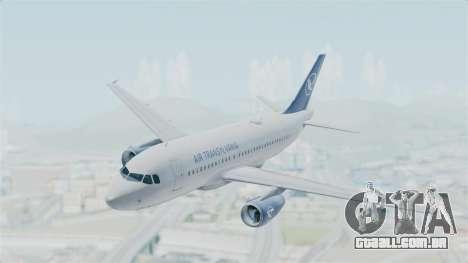 Airbus A319 Air Transylvania para GTA San Andreas