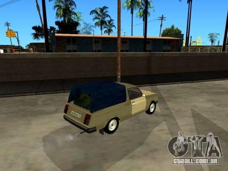 VAZ 2104 de Captação de para GTA San Andreas vista traseira