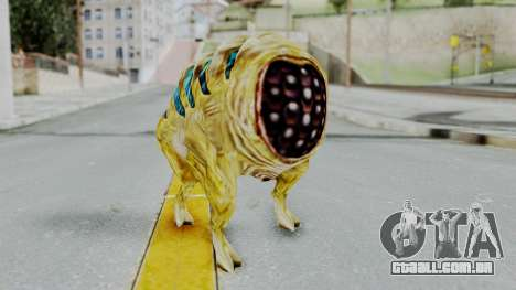 Houndeye from Half Life para GTA San Andreas segunda tela
