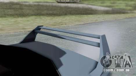 RC Turismo para GTA San Andreas vista direita