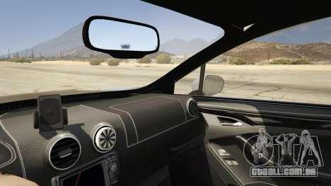 GTA 5 2014 Police Ford Mondeo Dog Section traseira direita vista lateral