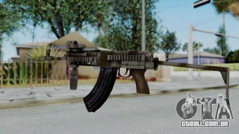 Arma OA AK-47 Eotech para GTA San Andreas segunda tela