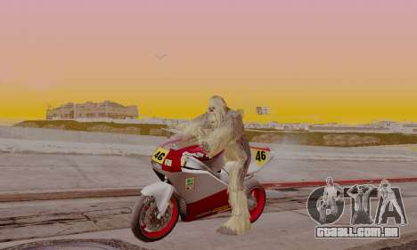 Chewbacca para GTA San Andreas segunda tela