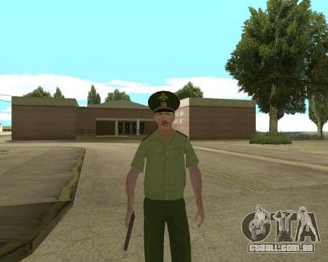 Sênior mandado de oficial de danyluk para GTA San Andreas