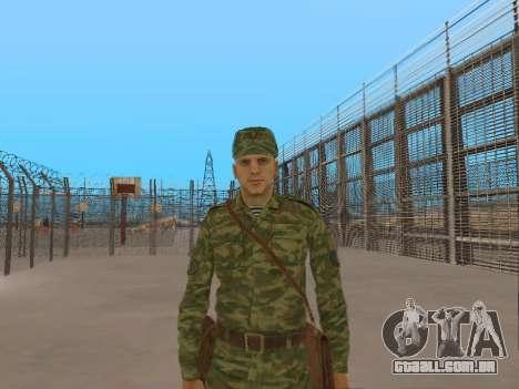 O airborne soldado para GTA San Andreas