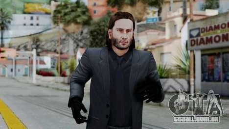 John Wich without Glasses - Payday 2 para GTA San Andreas terceira tela
