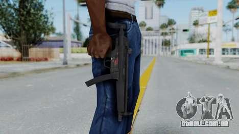 Arma AA MP5A5 para GTA San Andreas terceira tela