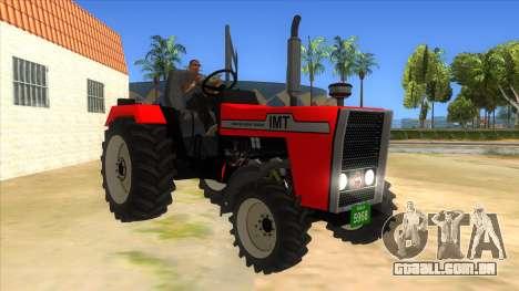 IMT Traktor para GTA San Andreas vista traseira