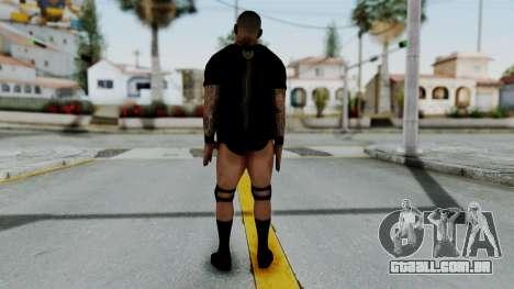WWE Randy 1 para GTA San Andreas terceira tela