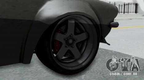 GTA 5 Nightshade para GTA San Andreas traseira esquerda vista