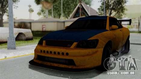 GTA 5 Karin Sultan RS Drift Big Spoiler para GTA San Andreas